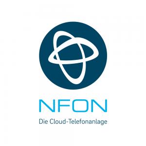 NFON Logo und Tra¦êger