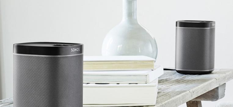Sonos Audio-Multiroomsystem ohne Kabeln!